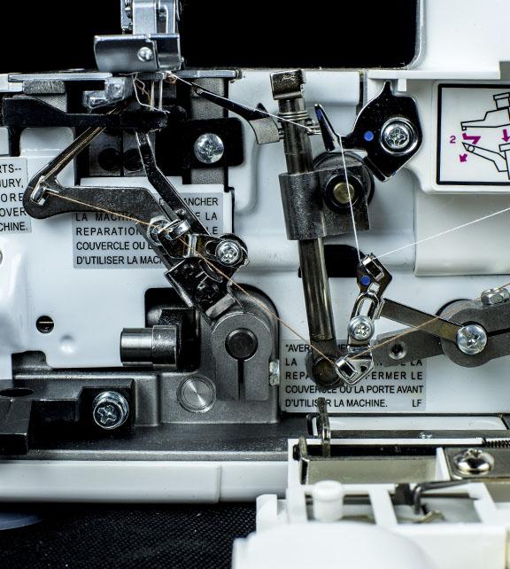 Jaguar Sewing Machines overlocker model 487 image 2
