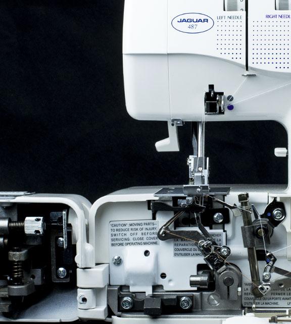 Jaguar Sewing Machines overlocker model 487 image 1