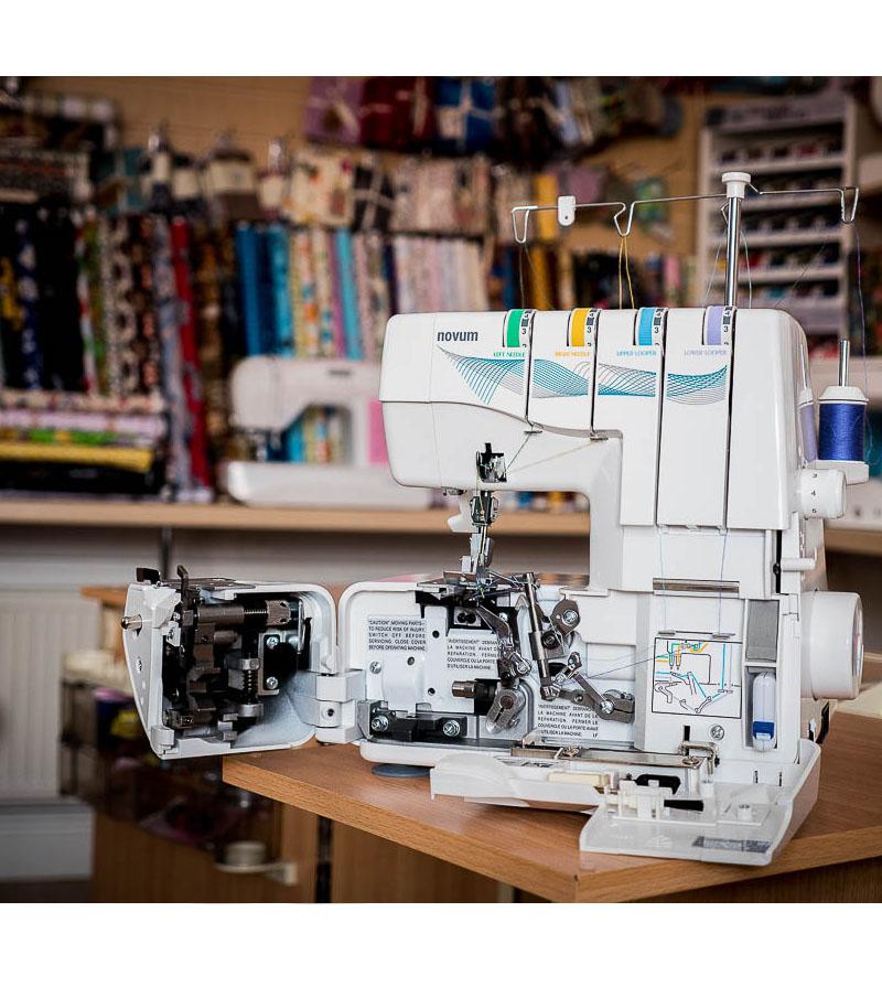 Jaguar Sewing Machine Supa Lock 486 detail 8