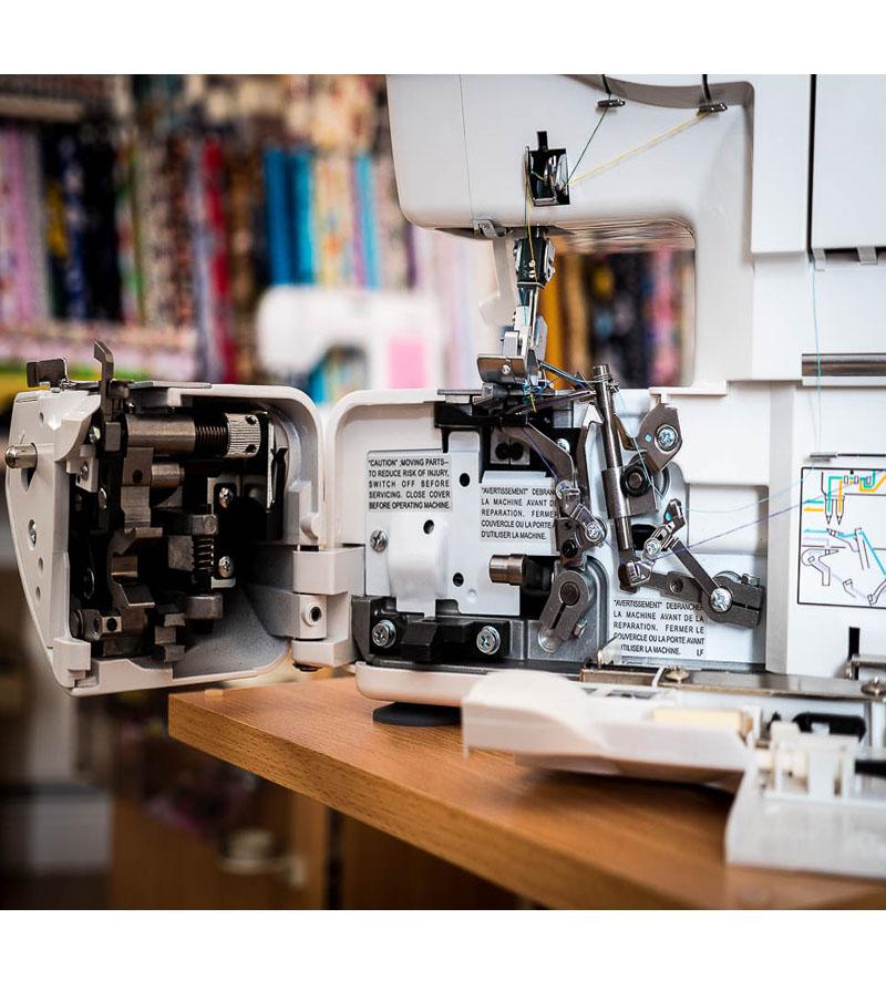 Jaguar Sewing Machine Supa Lock 486 detail 7