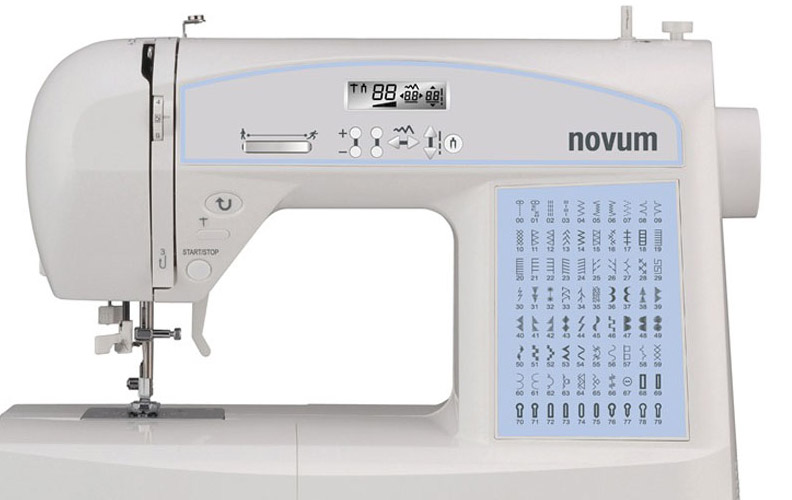 Jaguar Novum Prime 594 sewing machine is suitable for beginners and experienced sewists