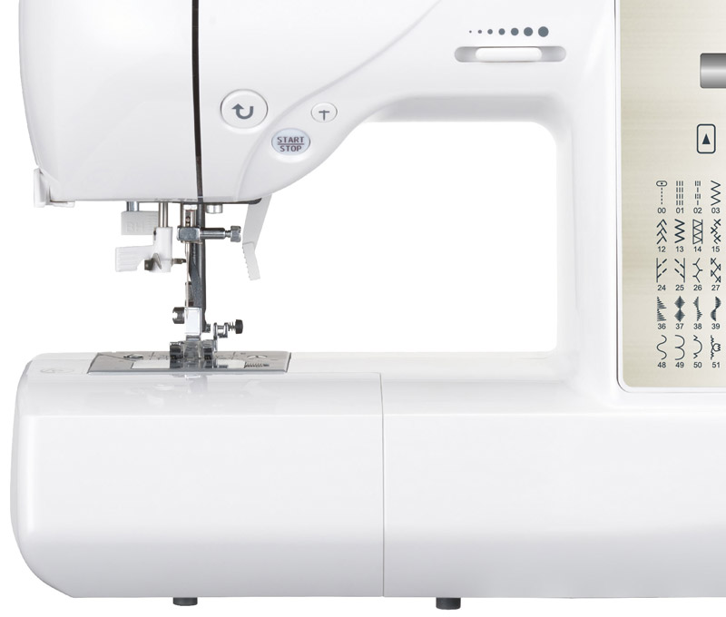 Jaguar DQS 403QSE sewing machine detail 1