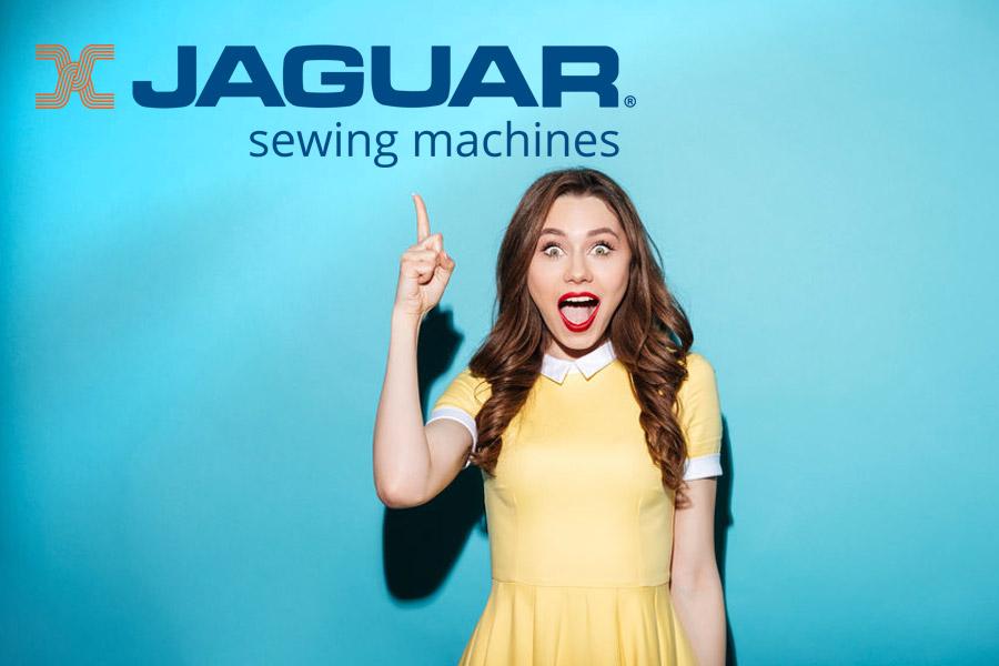 Jaguar sewing machines - your new best friend